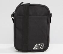 Schwarze Flugtasche Schwarz