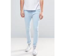 Brooklyn Supply Co Jeans in Eisblau Blau