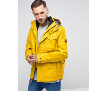 Ragged Mountain Gelbe 3-in-1-Jacke mit abnehmbarer Innenfleece-Jacke Gelb