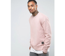 Oversized-Pullover Rosa
