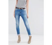 Blend She Cherrie Boyfriend-Jeans Blau