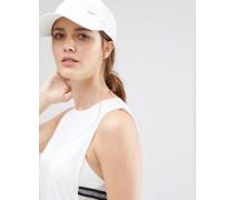 Weiße Kappe mit Swoosh-Logo Weiß
