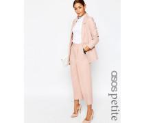Premium Hochwertiger Kostüm-Hosenrock aus Leinenmischung Rosa