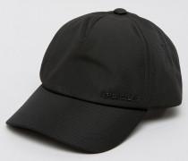 Schwarze Baseball-Kappe mit Logo Schwarz