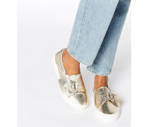 DIGGER Sneaker mit D-Ring Gold