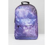 Galaxy Rucksack Violett