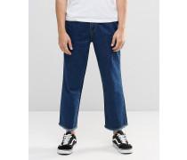 Brooklyn Supply Co Jeans mit weitem Bein Blau
