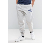 Fleece-Jogginghose Grau
