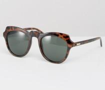 Mink Pink New Kid D Sonnenbrille im Katzenaugen-Design Braun