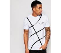 Nicce Court T-Shirt Weiß