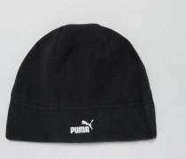 Snow Schwarze Fleece-Mütze 2106001 Schwarz