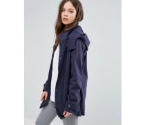 Jacke mit Kapuze Marineblau