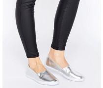 DEDE Sneaker zum Hineinschlüpfen Silber