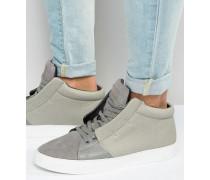 Soho Mittelhohe Sneaker Grau