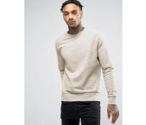 Brooklyn Supply Co Sweatshirt mit Noppen Beige