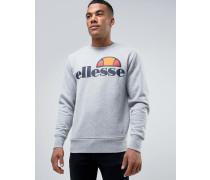 Sweatshirt mit klassischem Logo Grau
