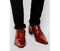 Schuhe mit Mittelnaht Braun