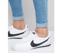 Classic Cortez Nylon-Sneaker 807472-100 Weiß