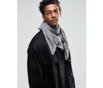 Schal aus Jersey Grau