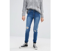 Perry Skinny-Jeans mit Knien im Distressed-Look Blau