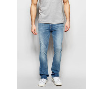 Boot Ben Skinny- Bootcut-Jeans in heller Fade Away-Waschung Blau