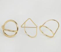 Outline Ringe Gold