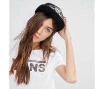 Beach Girl Trucker-Mütze mit Sternen-Print Schwarz