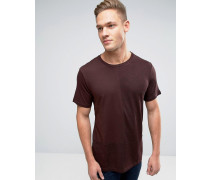T-Shirt mit Rundhalsausschnitt Rot