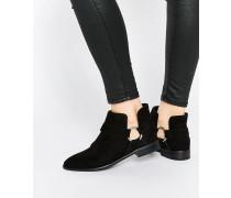 ALARA Spitze Ankle Boots Schwarz