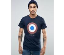 Classic Target T-Shirt Marineblau