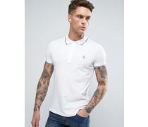 T-SKIN Basic Polohemd Weiß