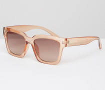 Getönte Persex-Sonnenbrille Weiß