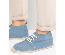 Desert Boot Espadrilles Blau