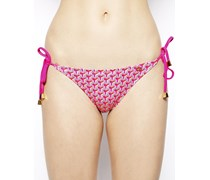 Willow Triangel-Bikinihose Rosa