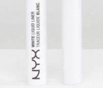 Professional Make-Up Flüssiger Eyeliner Weiß