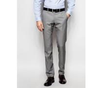 Anzughose aus Wollmix Grau