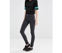 Body Sehr enge Skinny-Jeans Grau