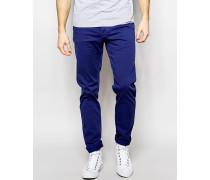 - Five-Pocket-Hose in schmaler Passform Blau