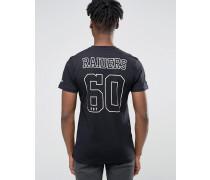 Raiders T-Shirt mit Rücken-Print Schwarz