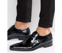 Lille Derby-Schuhe aus Leder Schwarz