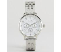 Payton Silberne Armbanduhr Silber