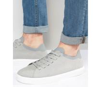 Monaco Flache Sneaker Grau