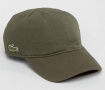 Grüne Baseball-Kappe Grau