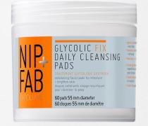 Glycolic Fix Reinigungspads zur täglichen Reinigung Transparent