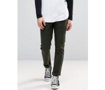 Goodstock Schmal geschnittene Jeans Grün