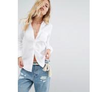 Oxford-Hemd Weiß