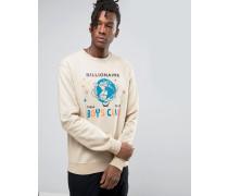 Billion Dollar Sweatshirt mit Aufdruck Beige