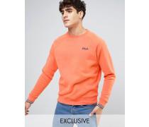 Fila Vintage-Sweatshirt mit kleinem Logo Orange