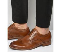 Radcliffe Derby-Schuhe im Budapester-Stil aus Leder Bronze