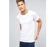 T-Shirt in Weiß Weiß